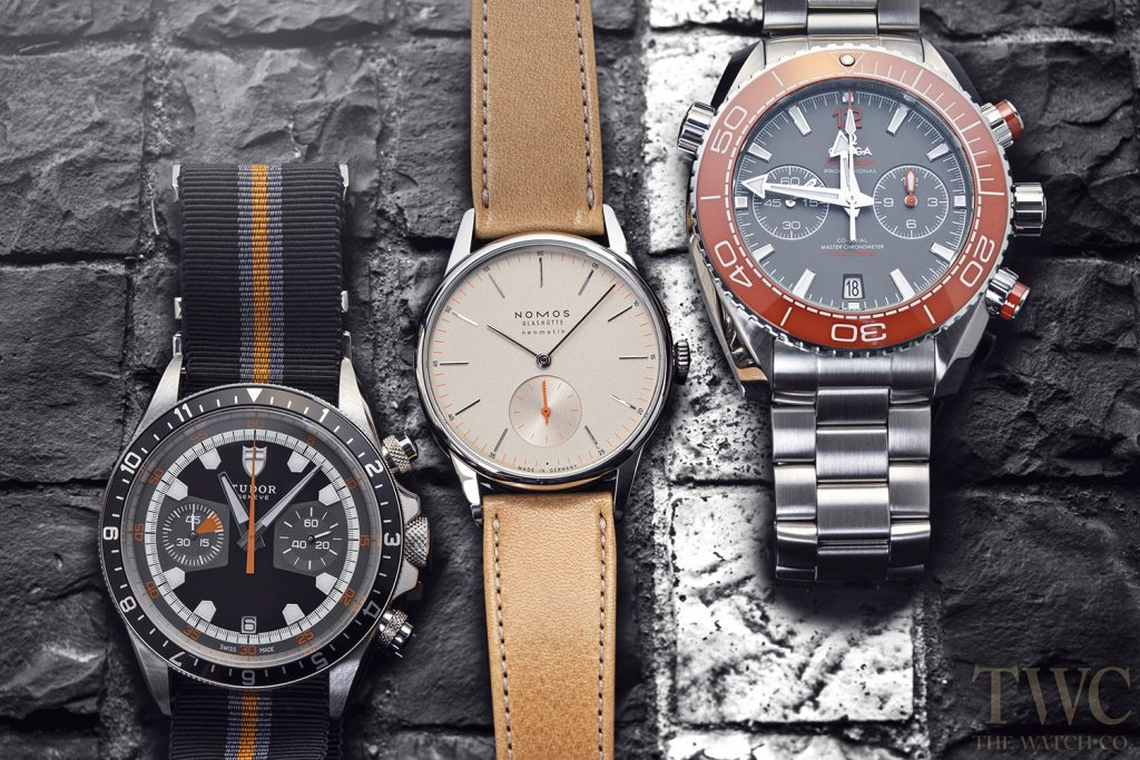 Tudor Nomos Omega Watches
