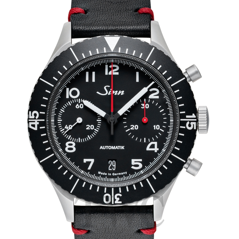 Sinn 158.010-Leather.VBLK